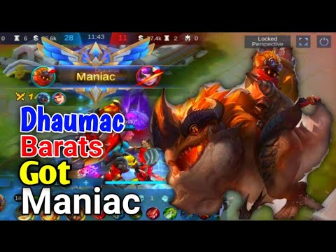 MY BARTAS GOT MANIAC AND MVP IN PLAY|DHAUMAC!!