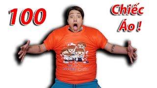 NTN - Thử Mặc 100 Chiếc Áo Lên Người ( 100 Shirt On The Body ) thumbnail