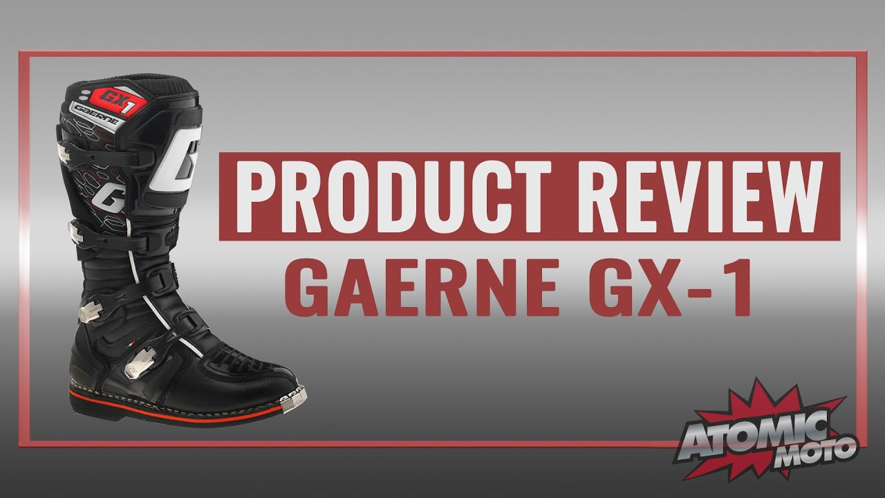 517480eae53 Gaerne GX-1 Boots Review - YouTube