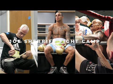 Joe Sherriff Fight Camp   Vlog