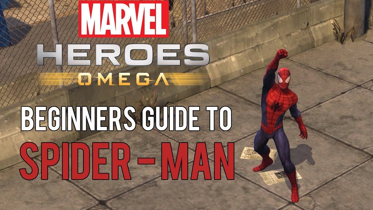 Spider-Man: Beginners Guide - Marvel Heroes Omega (PC/PS4/XBOX)