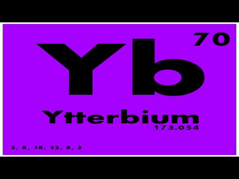 Study guide 70 ytterbium periodic table of elements youtube study guide 70 ytterbium periodic table of elements urtaz Images