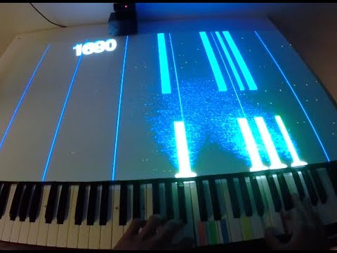 Notes 3D  Piano Game With Projected Visualization in 3D