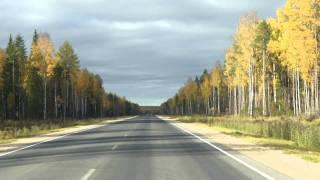Трасса Каргополь - Плесецк