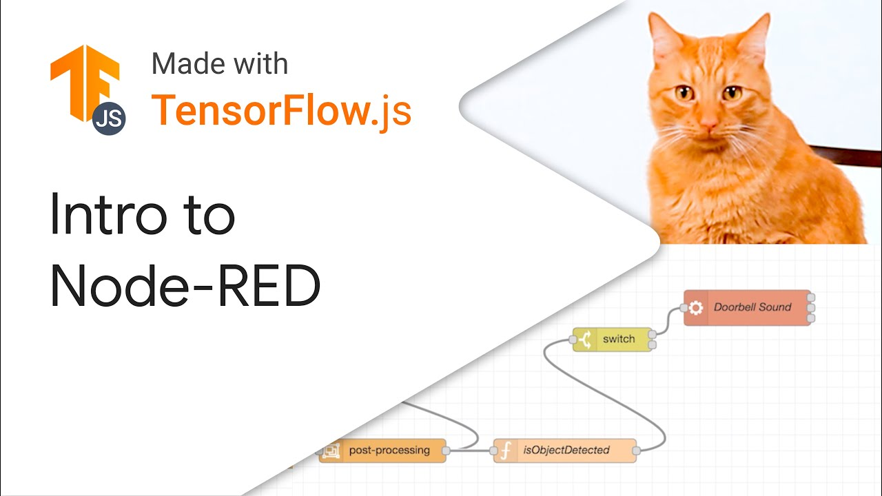 Node-Red: Visual coding for ML on Raspberry Pi and beyond - Made with TensorFlow.js