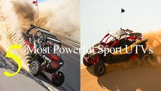 Top 5 Most Powerful Sport UTVs for 2018