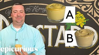 Download Mustard Expert Guesses Cheap vs Expensive Mustard   Price Points   Epicurious Mp3 and Videos