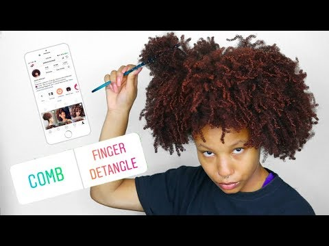MY INSTAGRAM FOLLOWERS CONTROL MY NATURAL HAIR FOR A DAY