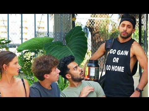 First Time Going to the Gym | Anwar Jibawi & Juanpa Zurita