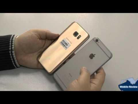 Сранение Samsung Galaxy S7 Edge и Apple iPhone 6S Plus