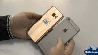 Сранение Samsung Galaxy S7 Edge и Apple iPhone 6S Plus
