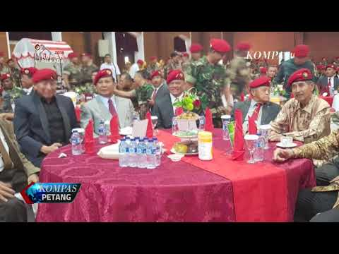 Prabowo-Gatot Bersanding di Perayaan HUT Kopassus