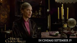 In this house, nothing is at is seems. #HouseWithAClock