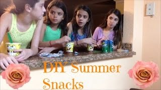DIY Yummy Summer Snacks Thumbnail