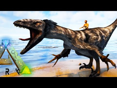 NEW DINOSAURS! DAKOTARAPTOR, ATROCIRAPTOR, AMPHICYON, MORE - Ark Survival Evolved Modded
