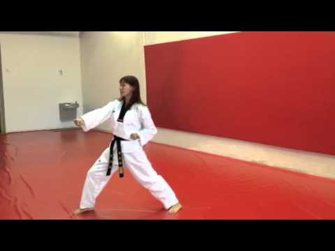 Kibon Hyung Basic Form 1 Hwang S Martial Arts Palm Beach