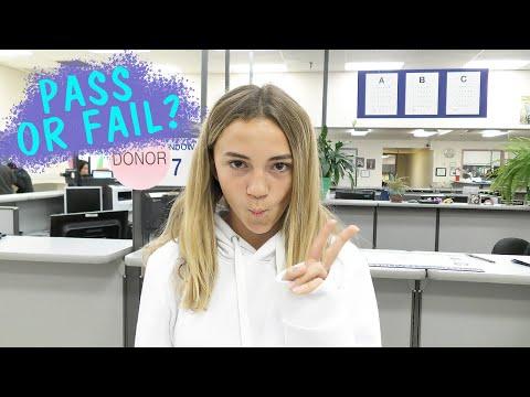 DOES KAYLA PASS HER FIRST DRIVING TEST AT DMV? | Kayla Davis
