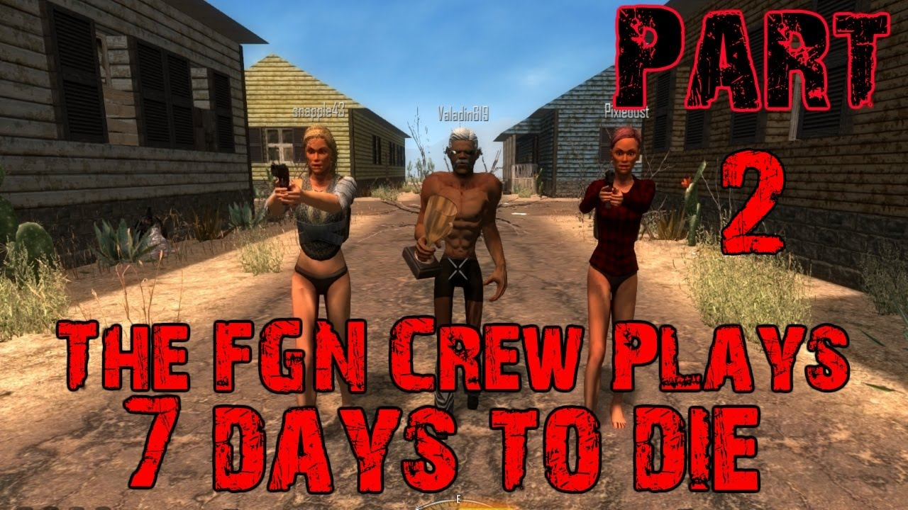 7 days to die nude mod