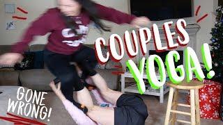 COUPLES YOGA CHALLENGE!!! (GONE WRONG!) - The Morados