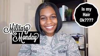 Military Mondays| Work Appropriate Hair In the Military | Bobbi Boss Lyna Wig Unboxing