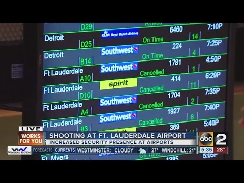 BWI Airport reacts to Ft. Lauderdale airport shooting