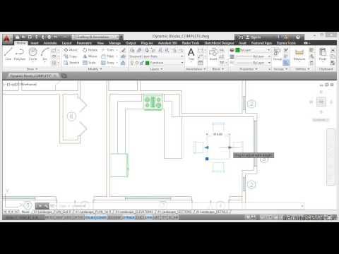 autocad-construction-drawings-tutorial-|-dynamic-blocks