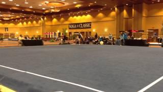 Blythe Terrell - Texas Dreams Gymnastics - 2015 - Level 8 - WOGA Classic 2015 - Floor