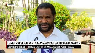 Lenis Kogoya Diminta Presiden Tenangkan Kondisi Papua