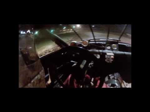8-30-2013 Tomahawk speedway pure stock feature and in car wreck