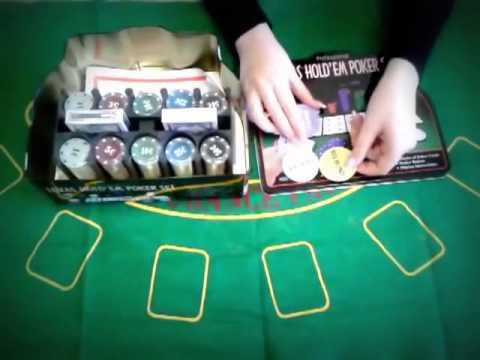 Набор для игры в покер на 200 фишек с номиналом и полотном от интернет магазина Sale55.nethouse.ua