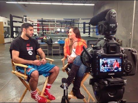 EXCLUSIVE: Amir Khan addresses the Maidana vs Mayweather rumors