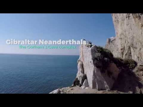 Gorham's Cave Gibraltar - A UNESCO World Heritage Site (5min)