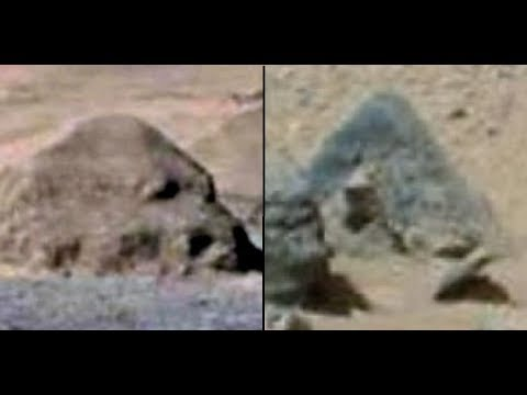 Curiosity Mars Rover Discovers Pyramid & Structures, NASA Sourced Images, Mars Anomalies