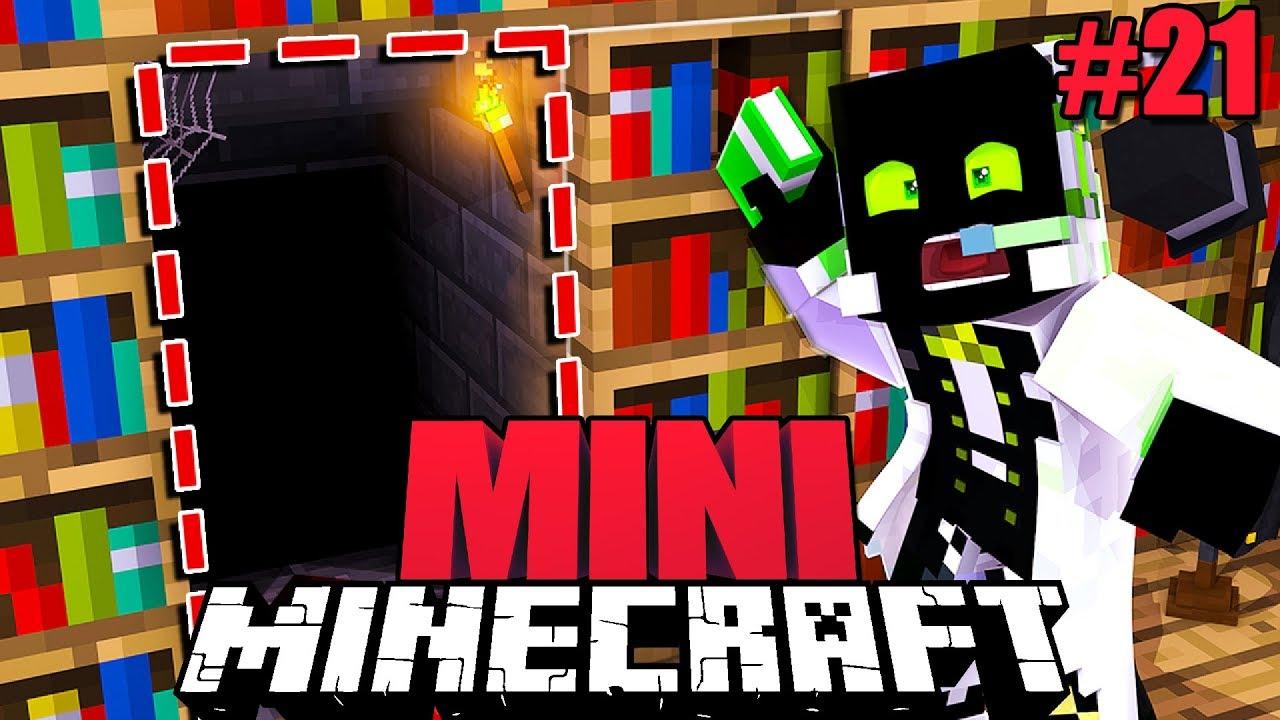 WOHIN FÜHRT DIESER GEHEIMGANG?! - Minecraft MINI #21 [Deutsch/HD]