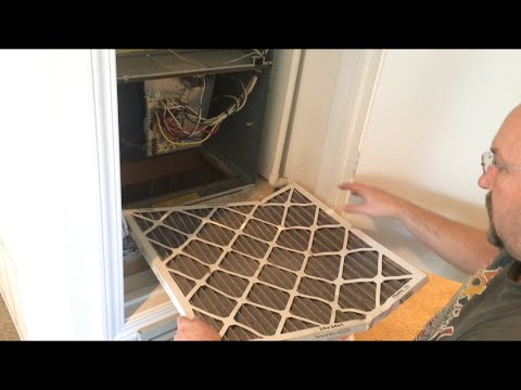 Air Conditioner Filter Replacement