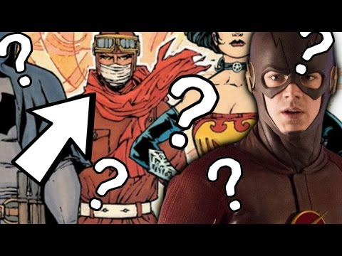 What identity will the Accelerated man have in the flash - The Flash Season 3