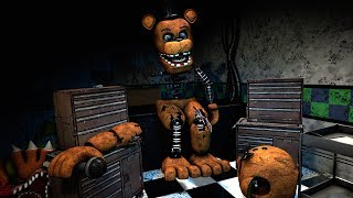 [FNAF Help Wanted] Repairing Withered Freddy Game-play Animation - Five Nights at Freddy's VR