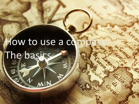 How to use a compass:For beginners