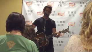die a happy man thomas rhett fan club party nashville tn 6 11 15