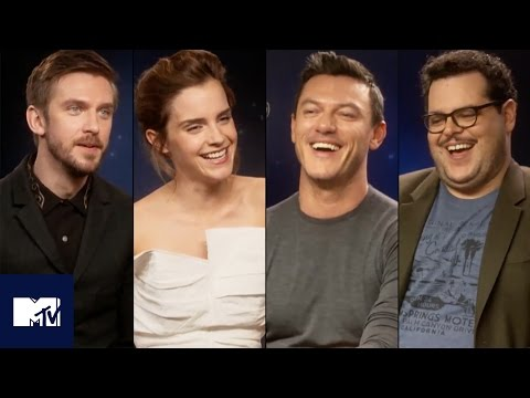 Beauty And The Beast Cast's Funniest Moments And Deleted Scenes! 🌹   MTV