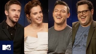 Beauty And The Beast Cast's Funniest Moments And Deleted Scenes! 🌹 | MTV