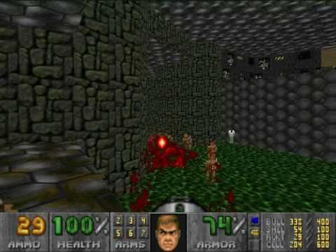 Lets Play Doom 2 Map09 The Pit Youtube