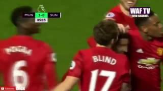 Manchester United 3 Vs 1 Sunderland  Extended Highlights  EPL 26 12 2016
