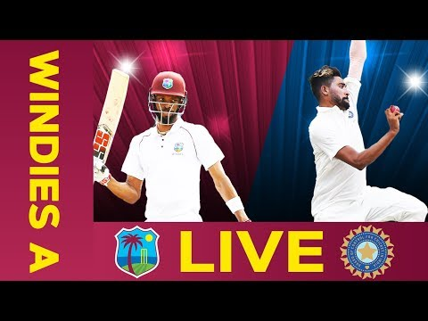 🔴LIVE West Indies A Vs India A | Day 2 | Second Test