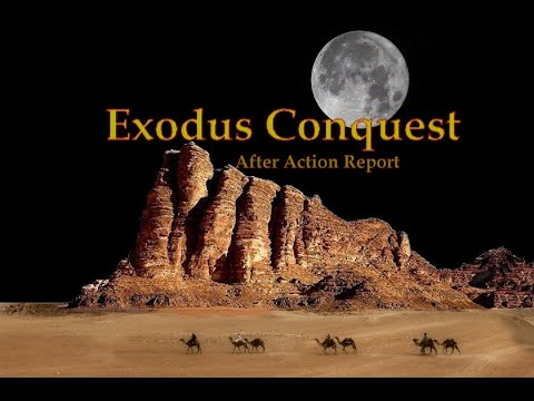 Exodus Conquest - The Israelites Route From Sinai To Canaan
