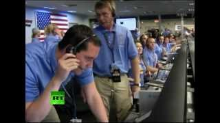 Video: Mars rover Curiosity lands on Red Planet after