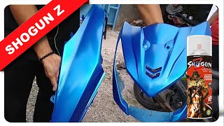 warna cat BIRU DOFF HONDA BEAT