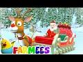Jingle Bells | Christmas Songs | Christmas Carols for Babies | Nursery Rhymes & Xmas Music - Farmees