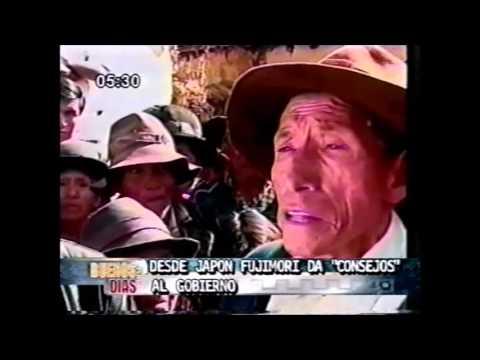 Desde el Japón el expresidente Fujimori criticó estrategia antisubversiva actual canal 5