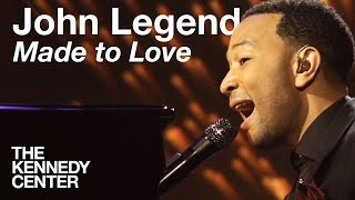 "John Legend, ""Made to Love"" -- Live at the Kennedy Center"